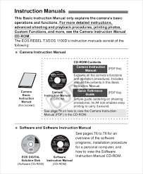 Instruction Manual Template Instruction Manual Template 10 Free Word Pdf Documents