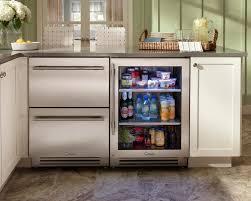 Undercounter Drink Refrigerator Rhode Island Kitchen With True Residential 24 Refrigerator