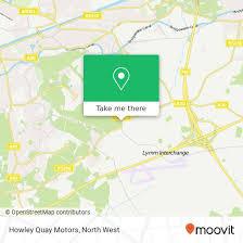 howley quay motors grappenhall lane appleton warrington wa4 4 warrington north west