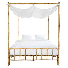 bamboo poster bed. Contemporary Bed Throughout Bamboo Poster Bed U