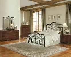 iron bedroom furniture sets. amazoncom standard furniture santa cruz 4 piece metal bedroom set in cherry iron sets