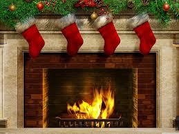 christmas fireplace hd wallpaper. Interesting Fireplace New Year By The Fireplace On Christmas Fireplace Hd Wallpaper