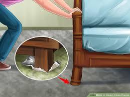 image led steam clean carpet step 1