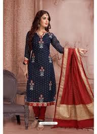 Designer Party Wear Churidar Indian Ethnic Wear Online Store