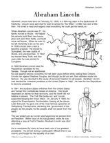 abraham lincoln biography mini book teachervision abraham lincoln biography mini book