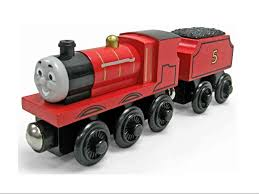 james train wooden railway