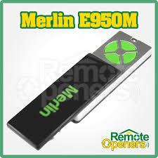 merlin e940m security20 garage door remote control handset