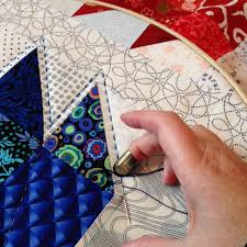 Wendy's quilts and more: Capital Quilters & I've started hand quilting my scrappy bear paw quilt. I'll use Perle 8 and  big stitch hand quilting. Of course I'll colour co-ordinate, and use a  matching ... Adamdwight.com