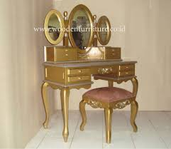 gold painted furnitureClassic Dressing Stool Gold Painted Dresser Classic Bedroom