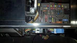 pdc rear and front clarification question if your car fusebox is before 03 07 use the black plug on the right side circled green pin8 if your car fusebox is after 03 07 use the blue plug left