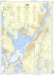 Noaa Chart 13226 Mount Hope Bay