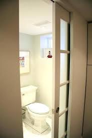 frosted glass bathroom door frosted glass bathroom door pocket