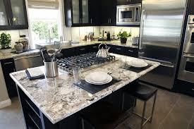 kitchen modern granite. Contemporary Kitchen With White Granite Countertops Modern G