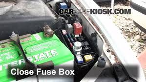 replace a fuse 1993 1996 lexus es300 1993 lexus es300 3 0l v6 6 replace cover secure the cover and test component