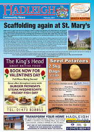 Hadleigh Community News February 2017 by Keith Avis Printers issuu