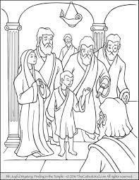 Small Picture Joyful Mysteries Rosary Coloring Pages The Catholic Kid