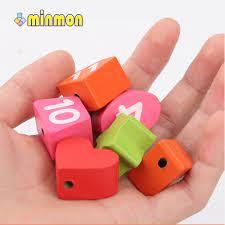 Đồ chơi xếp hình gỗ MINMON kiểu đồng hồ cho bé - CY209773 - Lắp ghép, Xếp  hình Hãng minmon
