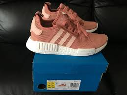adidas 6 5. adidas nmd r1 runner raw vapour pink mesh all uk sizes 4 4.5 5 5.5 6 6.5 7 8 new | ebay adidas