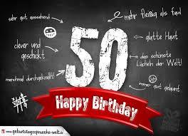 Happy Birthday 50 Sprüche Lustig Ribhot V2