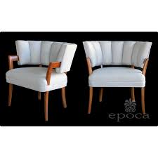 Image Table Rare And Iconic Pair Of American Art Deco Arm Chairs By Eugene Schoen 1930s Wall Street Journal Rare And Iconic Pair Of American Art Deco Arm Chairs By Eugene