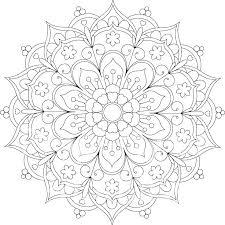 Mandala Coloring Pages Printable Printable Coloring Mandalas