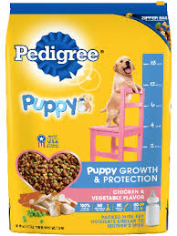 Food For Puppies Chicken Flavor Puppy Food Pedigree