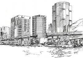 architectural building sketches. Photos: Sketches Of Buildings, - Drawings Art Gallery Architectural Building O