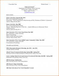 Psychology Sample Resumes Cv Template Psychology Resume Templates Design For Job