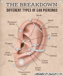 Cartilage Piercing Information Aftercare