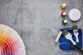 Color Palette Guide And Painting Accessories Paint Brushes