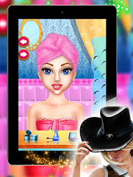 farm angel cow makeover makeup dress up games real beautiful cow game screenshot