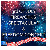 July 3 Fireworks | Arts & Events | City of Lacey, Washington, USA