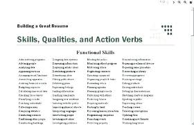 Resume Adjectives And Verbs To Use In A Put On For Template Cute Stunning Good Adjectives For A Resume