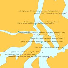 Arcadia Totten Inlet Puget Sound Washington Tide Chart