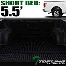 Topline Autopart Hidden Snap On Vinyl Truck Bed Tonneau Cover For 15 ...