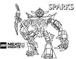 Nexo Lego Knights Coloring Pages Crafts Lego Knights Coloring