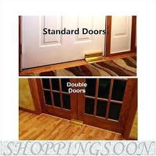 Door security floor bar Safety Door Security Brace Knob Stopper Bar Barricade The Lock Burthickeyclub Door Security Brace Knob Stopper Bar Barricade The Lock