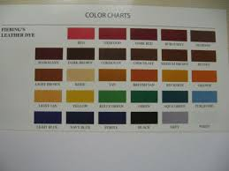 Fiebings Suede Dye Color Chart Fiebings Leather Dye W Applicator Usa Made 28 Colors 4 Oz Bottles Buckskin