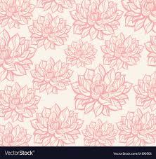 Lotus Pattern Interesting Decorating