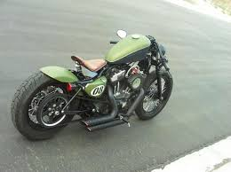harley davidson 883 iron cafe racer style chulada