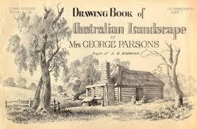 drawing book of australian landscapes by elizabeth parsons c