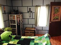 wonderful minecraft bedroom decor