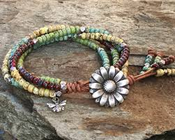 how to make leather wrap bracelet with charms unique leather wrap bracelet with charm boho wrap