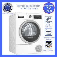 Máy sấy quần áo Bosch WTX87M20 seri 8, nhập khẩu Châu Âu, lỗi 1 đổi 1, bảo  hành 12 tháng toàn quốc - Các loại máy may khác