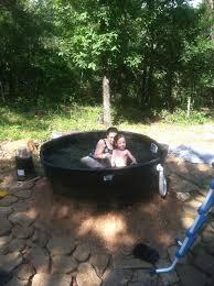diy redneck outdoor tub via instructables com