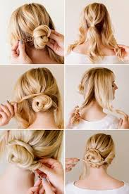 Hairstyle Easy Step By Step updo hairstyles for short hair step by step tagged easy updo 2758 by stevesalt.us