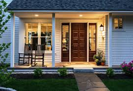 front door lightGreat Idea on Hanging Front Porch Light  Porch and Landscape Ideas