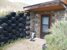 Tour  tire house where we lived   Making This Hometire retaining wall