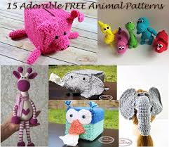 Crochet Animal Patterns Classy 48 Most Popular And Adorable Free Animal Crochet Patterns Nicki's