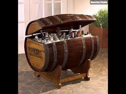 DIY Wine Barrel Cooler Projects
